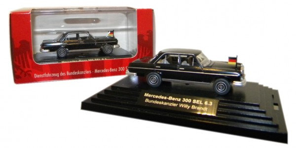 Wiking Mercedes-Benz 300 SEL 6.3 Willy Brandt Edition Bonner Republik