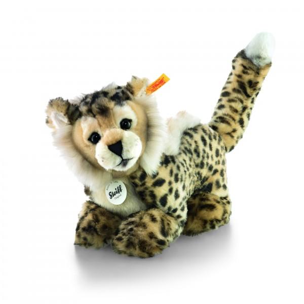 Steiff 064647 Cheetah Baby-Schlenker-Gepard 26 cm