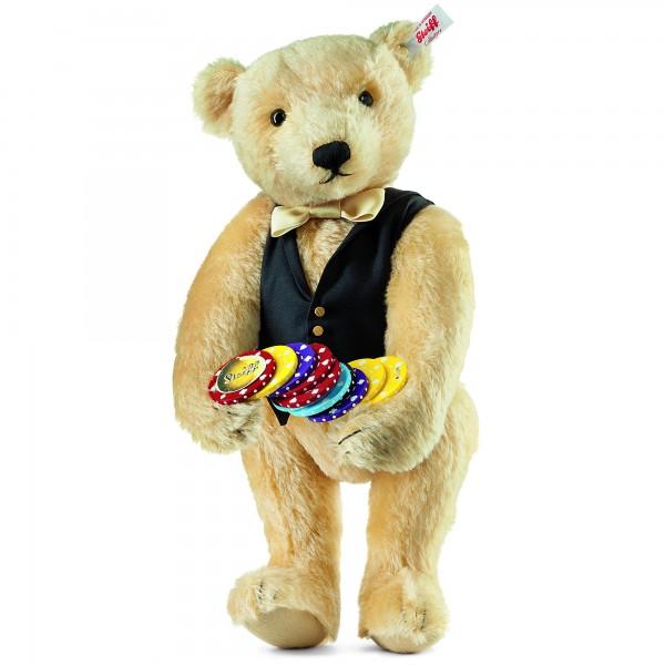 Steiff 034459 Croupier Teddybär Mohair 35 cm