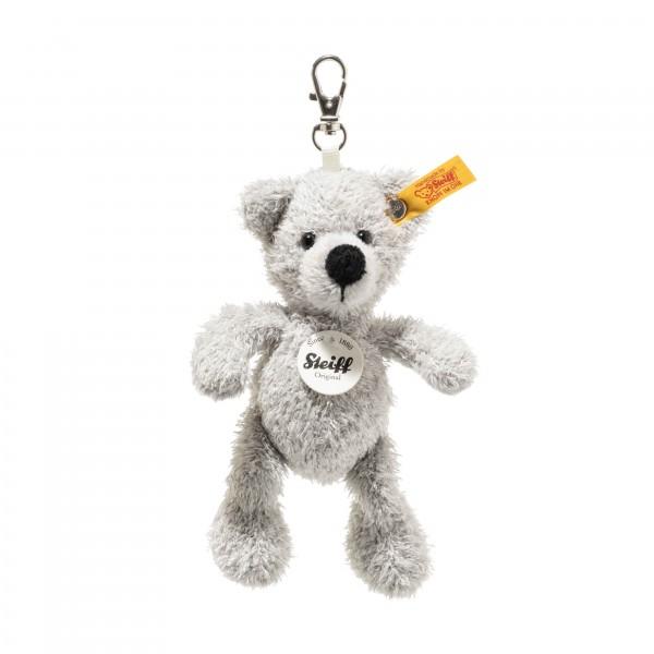 Steiff 112508 Schlüsselanhänger Fynn Teddybär grau 12 cm