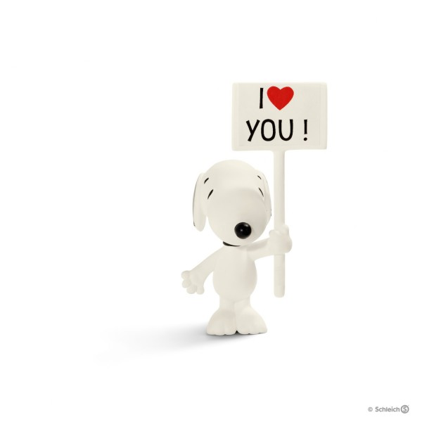 Schleich 22006 I love you! Snoopy