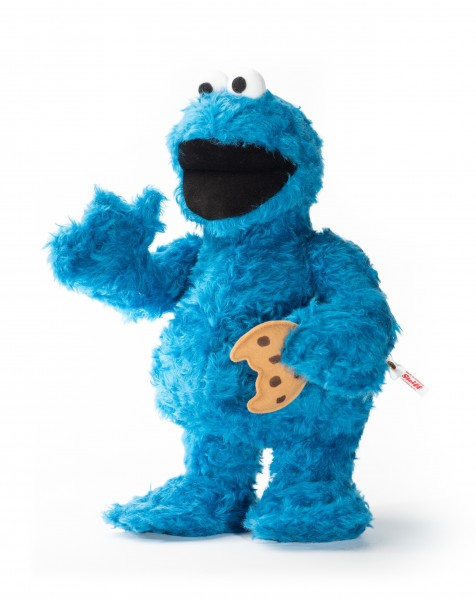 Steiff 658105 Krümelmonster Cookie Monster 37 cm