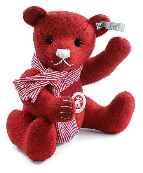 Steiff 036651 Teddybär Filzteddybär Candy Cane rot 25 cm