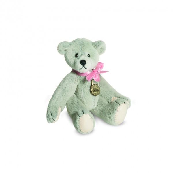 Teddy Hermann 157328 Teddy hellgrau Miniatur 6 cm