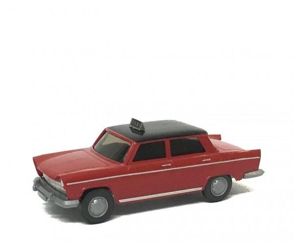 Wiking Fiat 1800 Taxi rot Edizione Italia