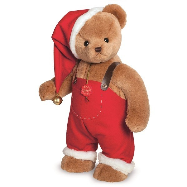 Teddy Hermann 148708 Weihnachtsbär William stehend 53 cm