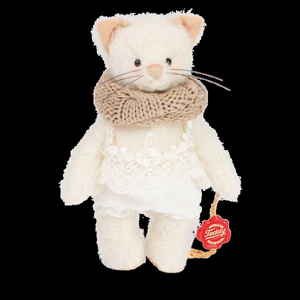 Teddy Hermann 102052 Kätzchen Michelle 14 cm
