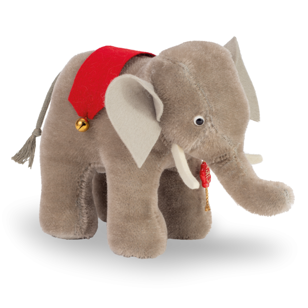 Teddy Hermann 170563 Replika Elefant 15 cm