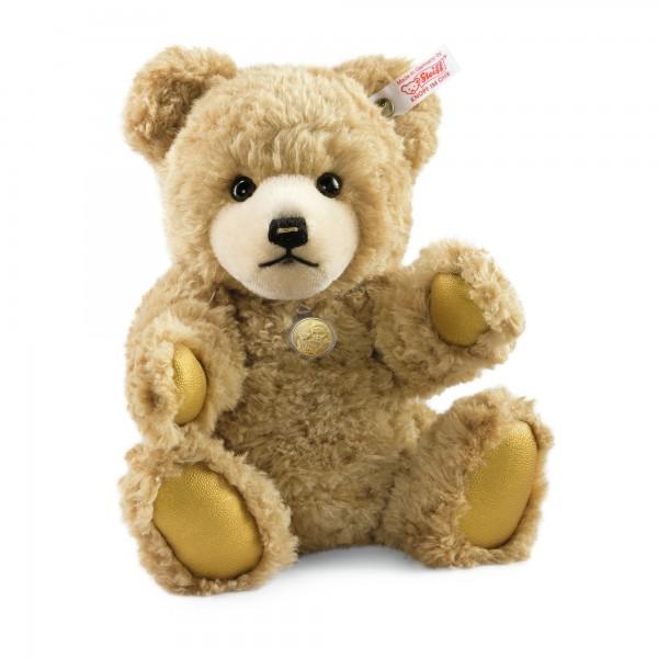 Steiff 674068 Medaillen-Teddybär Gold 32 cm