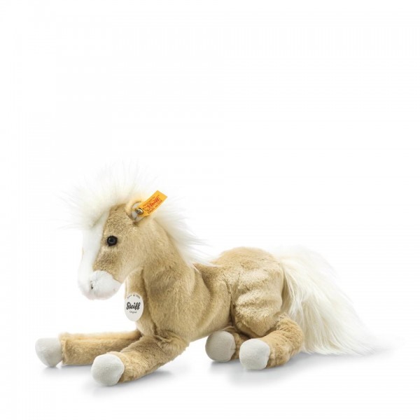 Steiff 122149 Dusty Schlenker Pony 26 cm blond