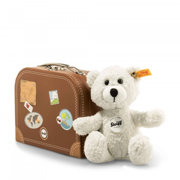 Steiff 113406 Sunny Teddybär creme 22 cm im Koffer