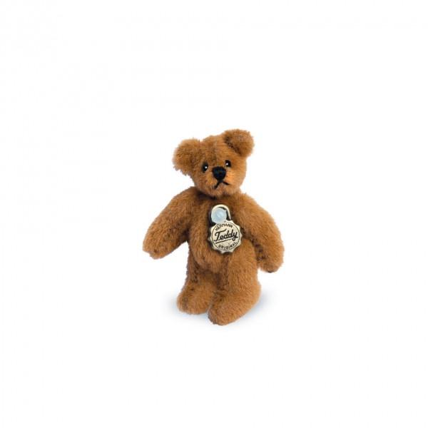 Teddy Hermann 154266 Teddybär goldbraun 4 cm Miniatur
