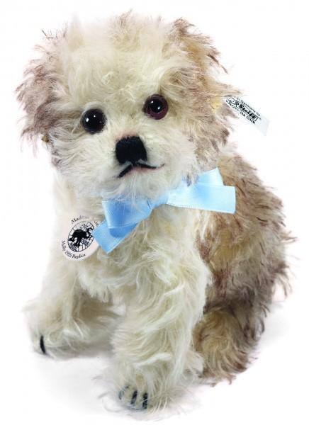 Steiff 403101 Hund Molly 1925 Replica Mohair 14 cm