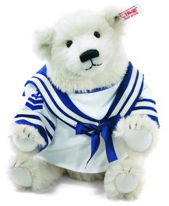 Steiff 682087 Polar the Titanic bear Alpaca 32 cm USA