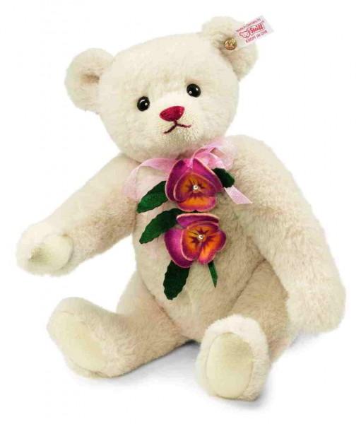 Steiff 682773 Pansy, the Springtime Teddy Bear Alpaca 30 cm