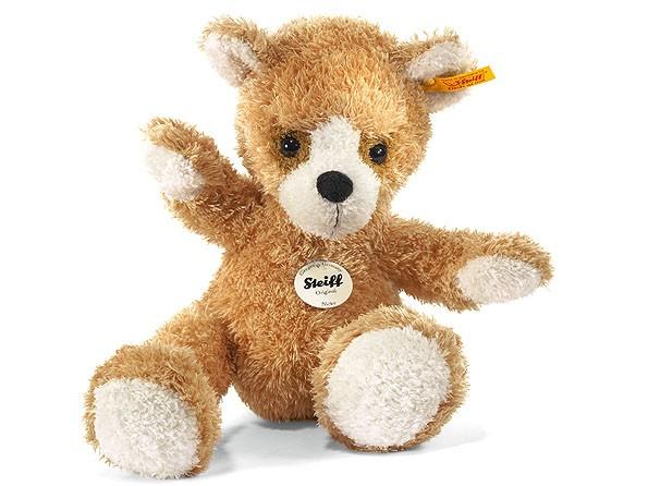 Steiff 013201 Nicky Teddybär goldbraun kuschelig 28 cm