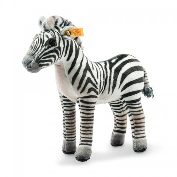 Steiff 024429 Zolle Grants Zebra 18 cm schwarz/weiss