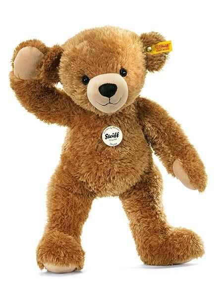 Steiff 012662 Happy Teddybär hellbraun kuschelweich 28 cm