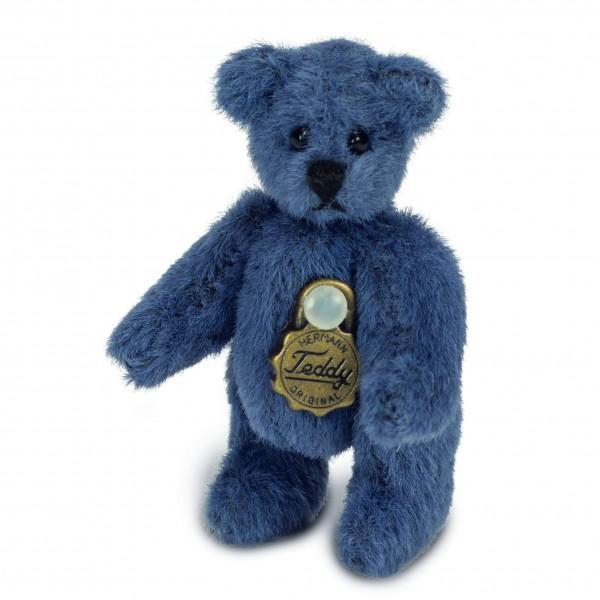 Teddy Hermann 154464 Teddy blau 4 cm
