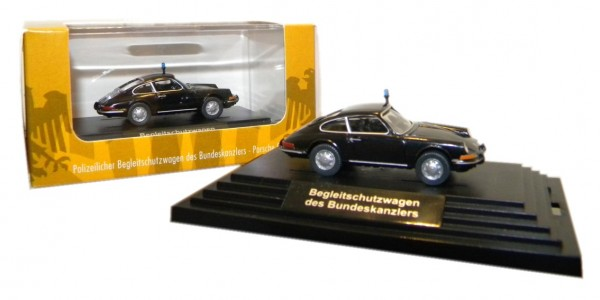 Wiking Porsche 911 Begleitschutz des Bundeskanzlers Edition Bonner Republik