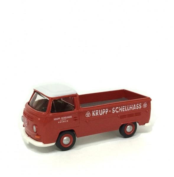 Wiking VW T2 Pritsche Krupp-Schellhass