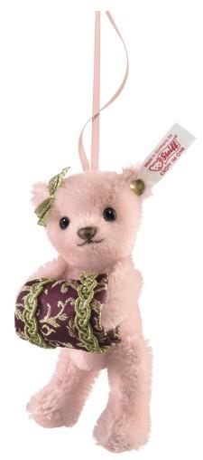 Steiff 034831 Teddybär Emma Ornament Mohair 10 cm