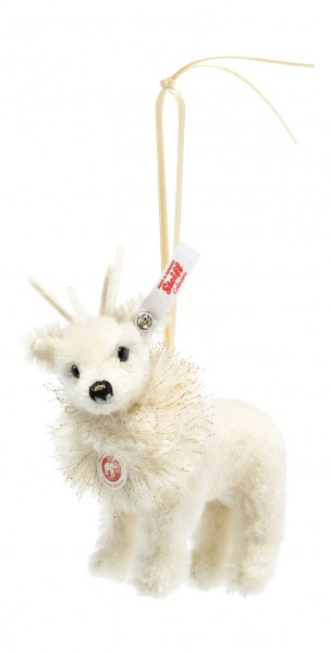 Steiff 006234 Winterrentier Ornament 12 cm