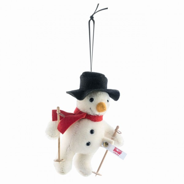 Steiff 683091 Mr. Winter Schneemann Ornament 12 cm