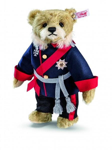 Steiff 673634 Teddybär Kaiser Wilhelm 25 cm Mohair