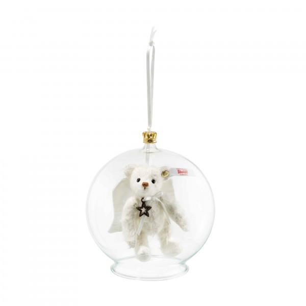 Steiff 006739 Gabriel Teddybär in Glaskugel Ornament