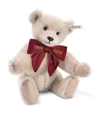 Steiff 038495 Teddybär Margarete Mohair Rose 28 cm