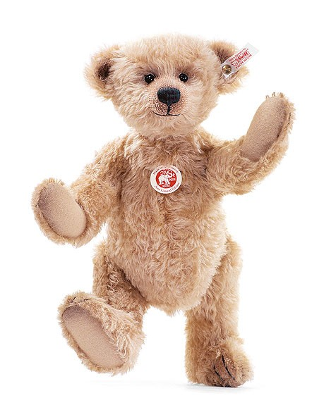 Steiff 036224 Jona Teddybär Mohair hellbraun 35 cm