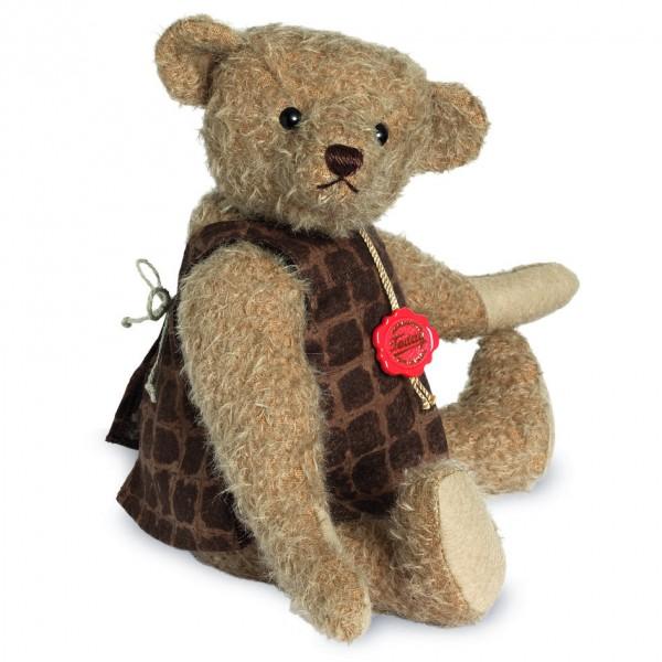 Teddy Hermann 166115 Teddybär Minna mit Brummstimme 31 cm