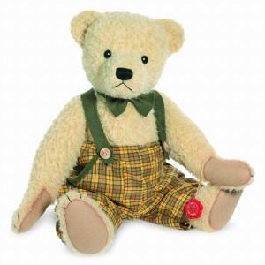 Teddy Hermann 166429 Teddybär Edmund mit Brummstimme 43 cm
