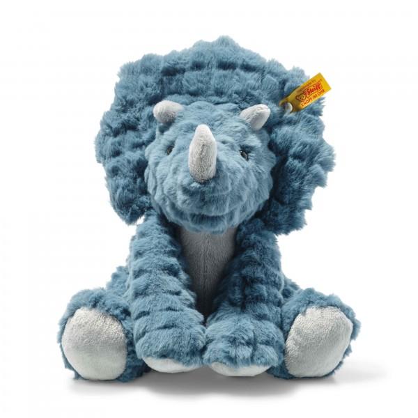 Steiff 087806 Soft Cuddly Friends Dixi Triceratops 28 cm