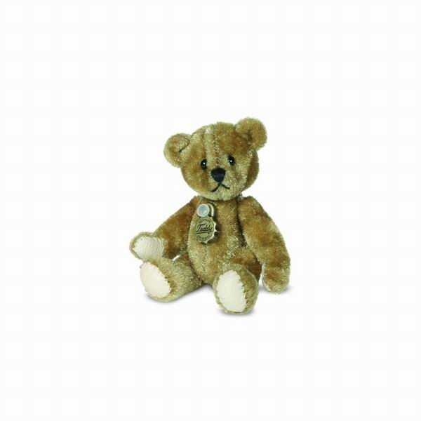 Teddy Hermann 157724 Teddybär dunkelgold Miniatur 5,5 cm