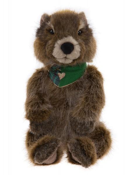 Charlie Bears Woodchuck Murmeltier 39 cm