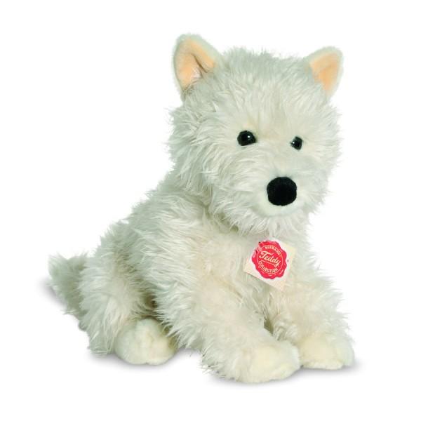 Teddy Hermann 927792 Hund West Highland Terrier Wirkplüsch 29 cm
