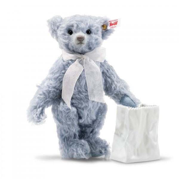 Steiff 006777 Teddybär Lily 24 cm mit Vase