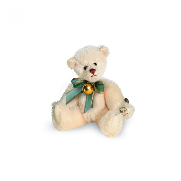 Teddy Hermann 154242 Teddybär Glöckchen 9 cm