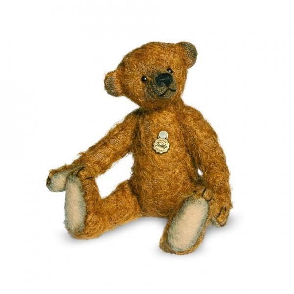 Teddy Hermann 162896 Antikbär braun 11 cm