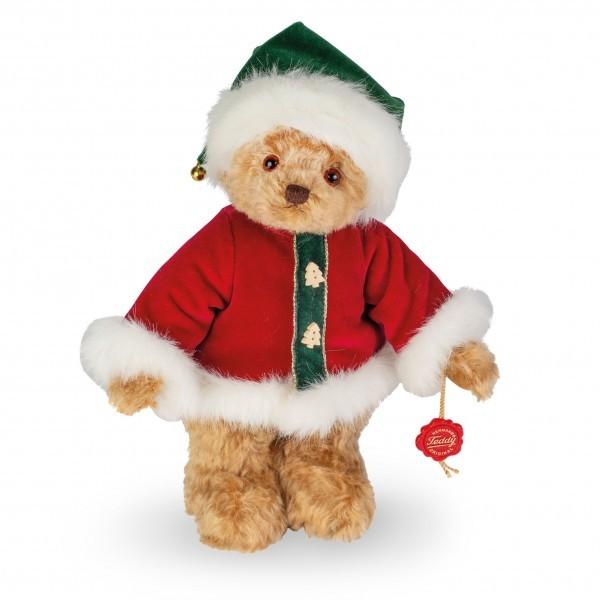 Teddy Hermann 148739 Weihnachtsbär 2019 Teddybär 30 cm