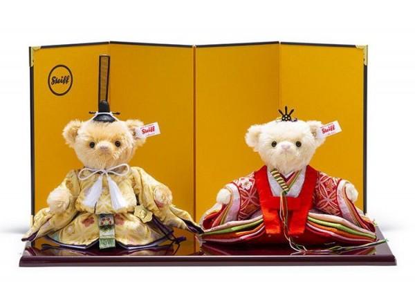 Steiff 678875 Teddybären Hina-Puppen (Sakura Cloisonne) 2020