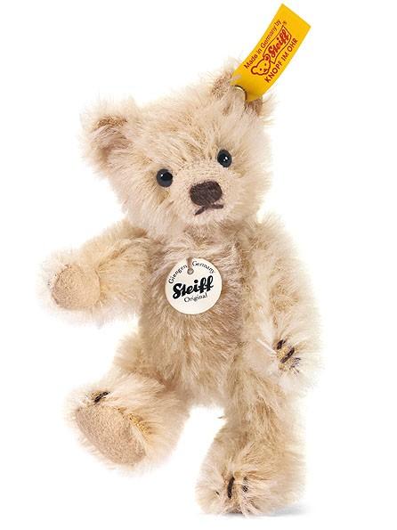 Steiff 040009 Mini Teddybär Mohair 10 cm blond