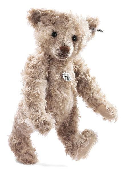 Steiff 403064 Teddybär 1906 Replica Mohair Caramel gespitzt 45 cm