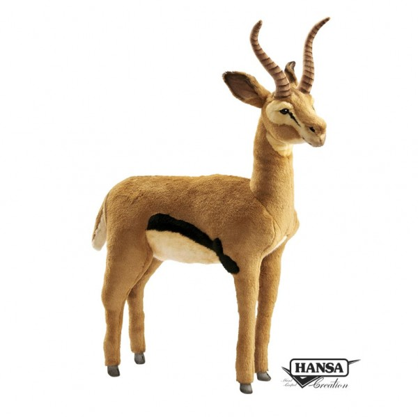 Hansa 4778 Gazelle 60 cm hoch, 50 cm lang