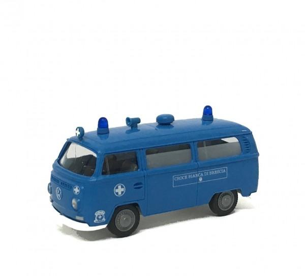 Wiking VW T2 Bus Croce Bianca di Brescia
