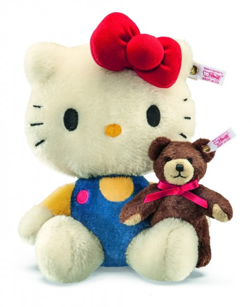 Steiff 682216 Hello Kitty 40th Anniversary 23 cm