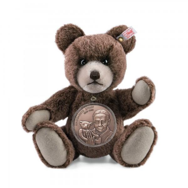 Steiff 673801 Medaillen Teddybär 25 cm Bronze