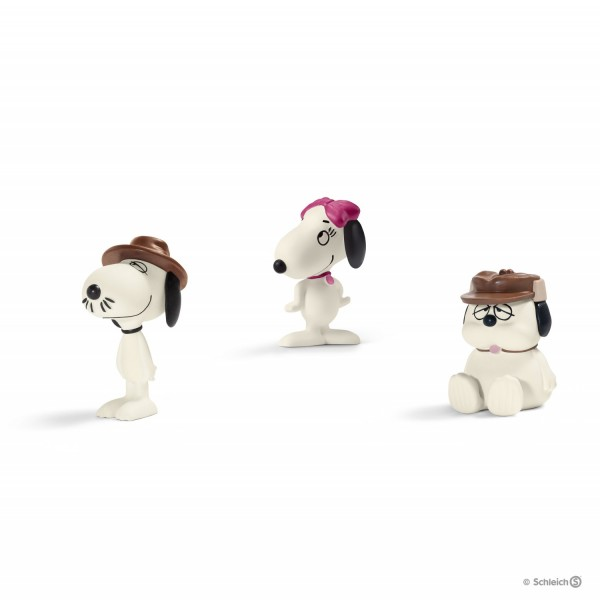 Schleich 22058 Scenery Pack Snoopy's siblings Peanuts Snoopy